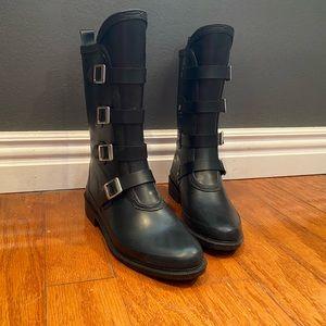 Capelli New York moto style rain boots